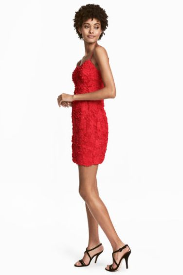 Red Dress Model – MsSoniaSandhu Blog