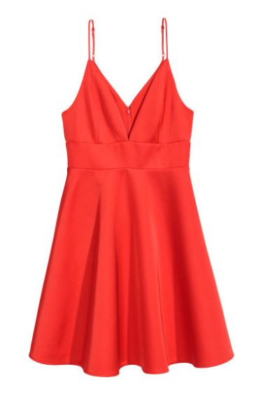 Satin Sweetheart Dress Red – MsSoniaSandhu Blog